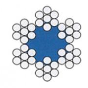 Lano ocelové (6x7+FC)