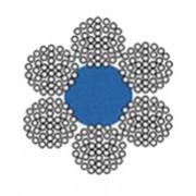 Lano ocelové (6x37+FC)