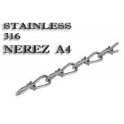 Řetěz uzlovaný DIN 5686